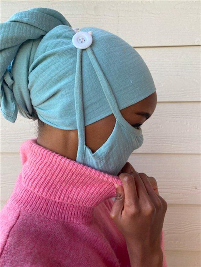 Такие медицинские маски мусульманки точно оценят! (ФОТО)