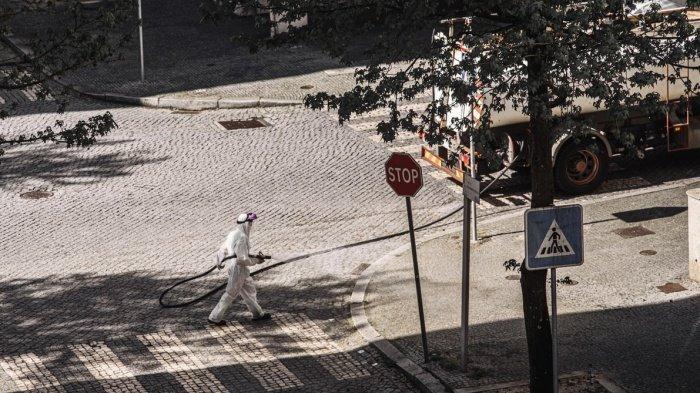 С точки зрения сдерживания вируса полезность дезинфекции улиц минимальна