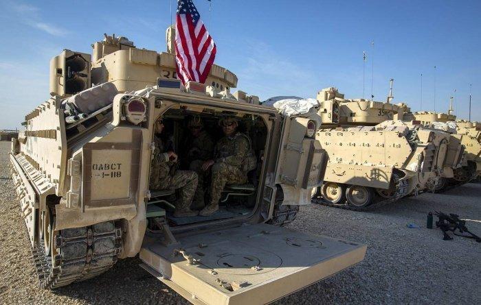 США наращивают военную группировку на Ближнем Востоке.