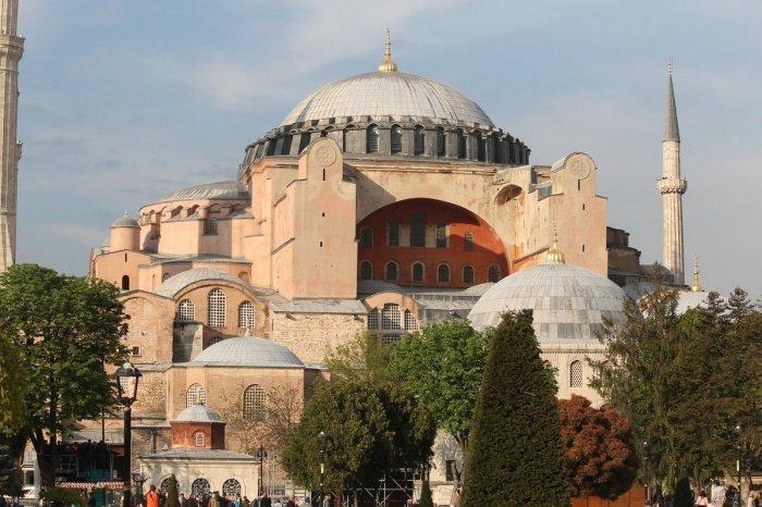 Собор Святой Софии в Стамбуле.