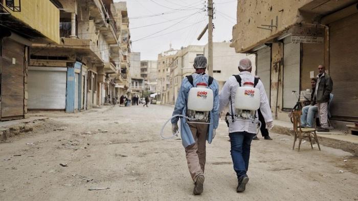 В сирийском городе выявили сразу 16 новых случаев заражения коронавирусом.