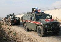 Автомобиль российской военной полиции подорвался в Сирии