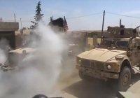 Американские военные попытались блокировать российский патруль в Сирии