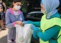 Семьи с тяжелобольными детьми получили продуктовые наборы от ДУМ РТ