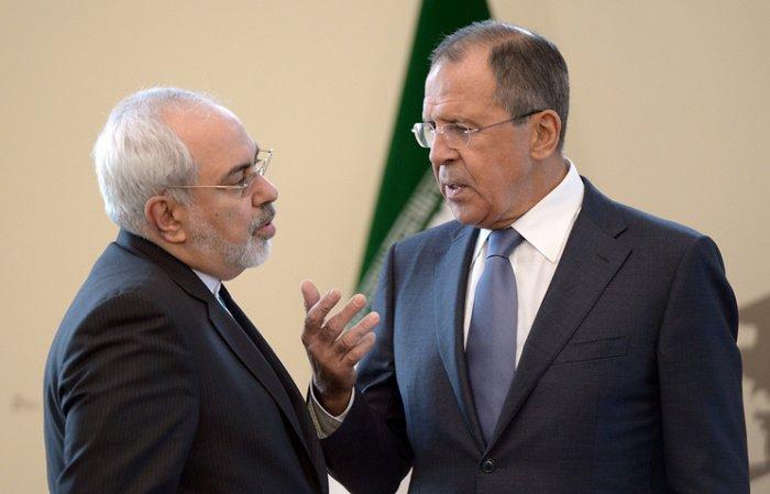 Главы МИД России и Ирана на одной из предыдущих встреч.