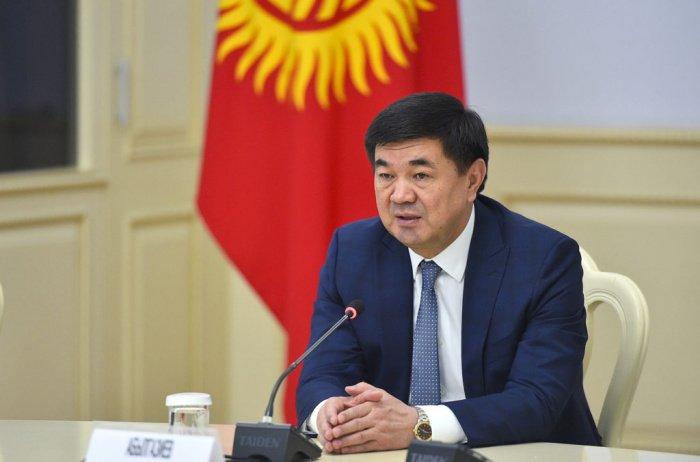 Абылгазиев возглавлял киргизское правительство более двух лет.