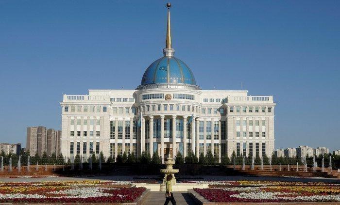Дом правительства Казахстана.