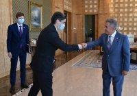 Рустам Минниханов встретился с новым генконсулом Туркменистана в Казани