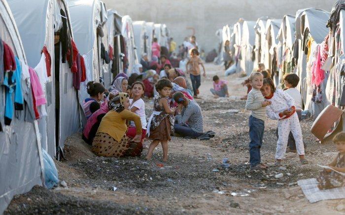 Миллионы сирийских беженцев нуждаются в срочной гуманитарной помощи.