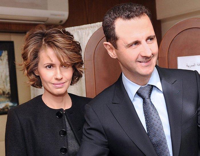 Башар и Асма Асад подпали под американские санкции.