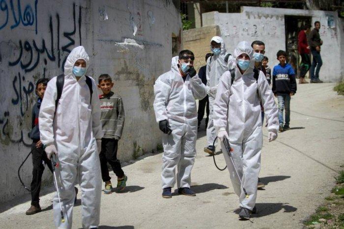 В Палестине снова растет число случаев заражения коронавирусом.