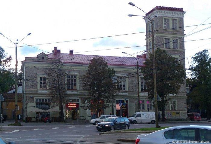 Здание бывшего пожарного депо. Современный вид.