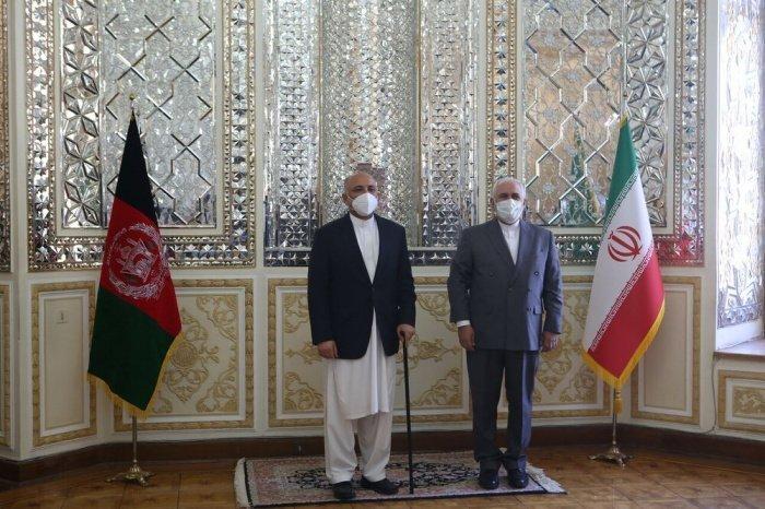 Главы МИД Ирана и Афганистана провели переговоры.