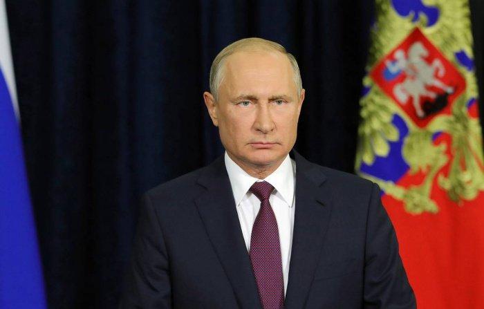 Владимир Путин выступил с очередным обращением.
