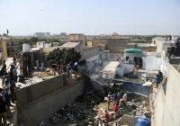Власти Пакистана назвали причину крушения Airbus 320, в котором погибли 97 человек