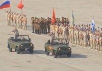 Парад Победы прошел на авиабазе Хмеймим в Сирии