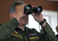 Шойгу анонсировал крупнейшие военные учения
