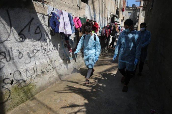 Власти Палестины объявили о повторной вспышке коронавируса.