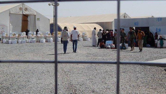 Лагерь беженцев закрыли из-за обнаружения заразившегося коронавирусом.