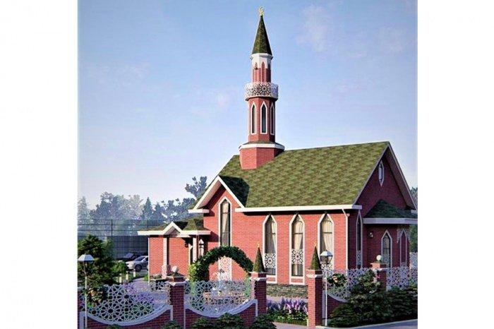 Так будет выглядеть новая мечеть.