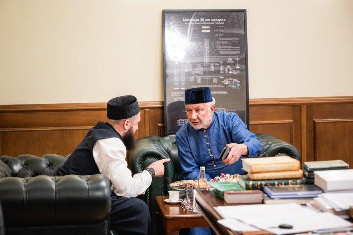 Камиль Самигуллин с Фаридом Ляпиным.