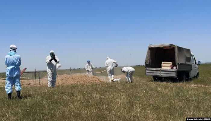 Умерших от коронавируса в Казахстане будут хоронить на общих кладбищах.