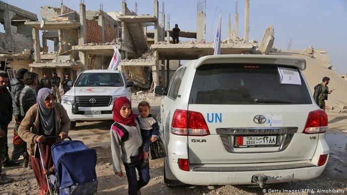 ООН и ЕС собрали на помощь Сирии почти 8 млрд долларов.