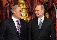 Владимир Путин поздравил Нурсултана Назарбаева с 80-летием