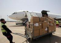 Сирия получила 10 тонн медпомощи из Индии