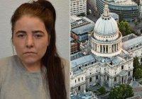 Британка, готовившая теракт, приговорена к пожизненному заключению