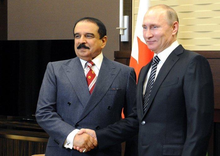 Путин и Аль Халифа на одной из предыдущих встреч.