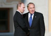 Назарбаев поблагодарил Путина за помощь Казахстану в борьбе с коронавирусом