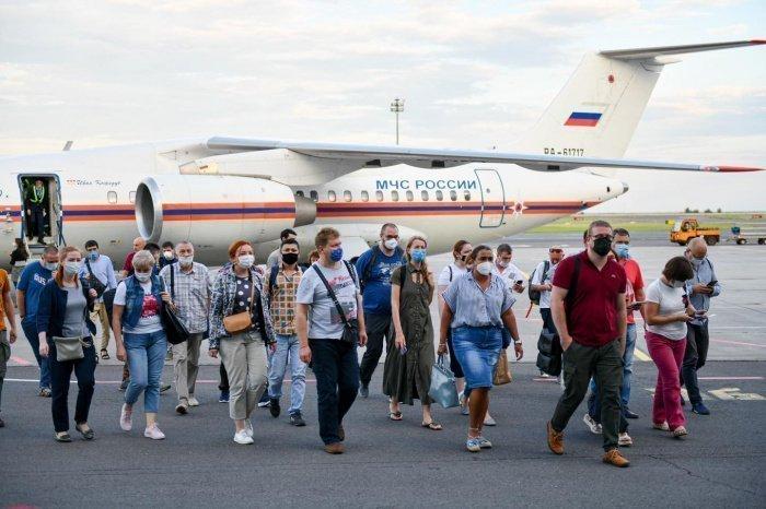 В Казахстан прибыли российские врачи.