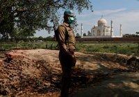 Открытие Тадж-Махала отменили из-за всплеска заболеваемости коронавирусом