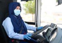 В Дубае женщины впервые стали водителями автобусов