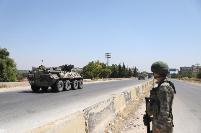 Российские военные готовятся к провокациям со стороны боевиков в Сирии.