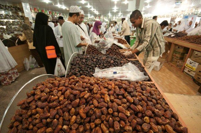 Центральный рынок фиников в Медине