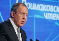 Лавров примет участие в «Примаковских чтениях»