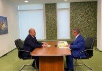 Минниханов встретился с премьер-министром России Михаилом Мишустиным