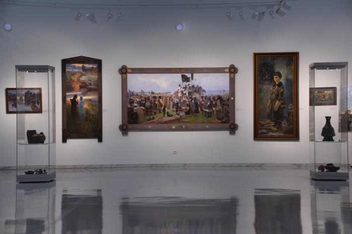 Выставка в Галереи современного искусства ГМИИ РТ