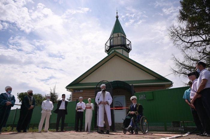 Восстановлению мечети посодействовали мусульмане со всего Татарстана