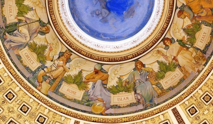 Купол Библиотеки Конгресса США
