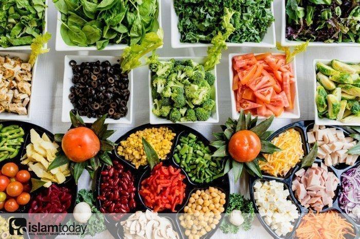 Что говорится в Коране о здоровом питании?