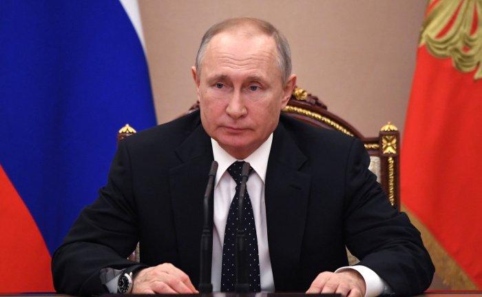 Глава государства поручил правительству России представить план и скорректировать нацпроекты для достижения национальных целей до 30 октября (Фото: официальный сайт президента России