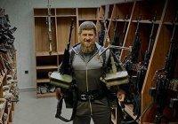 В Кремле прокомментировали фото Кадырова с оружием