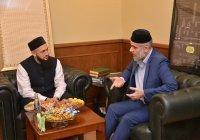 Муфтий РТ встретился с профессором БИА шейхом Мухаммадом Айманом аз-Захрави