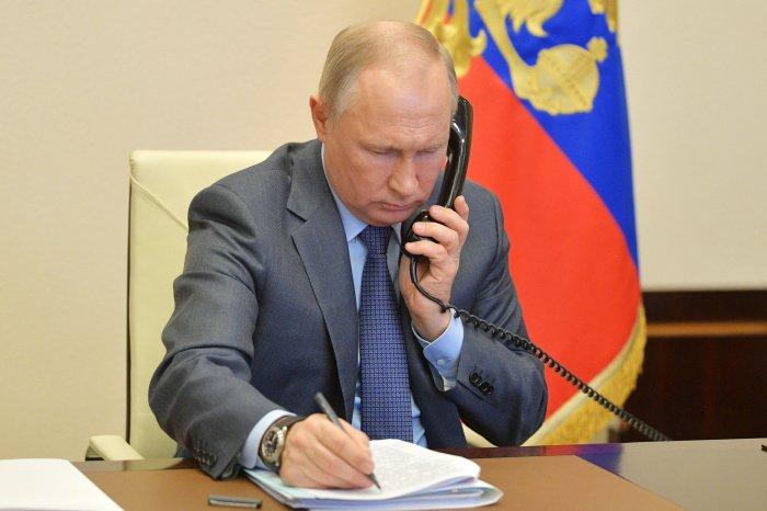Собеседники также рассмотрели развитие российско-греческого взаимодействия в различных сферах (Фото: Алексей Дружинин/ТАСС)