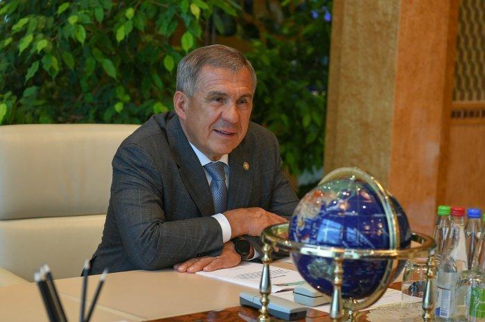 Минниханов призвал организаторов празднования Курбан-байрама в Татарстане не отступать от рекомендаций Роспотребнадзора (Фото: Марсель Бадыкшин)