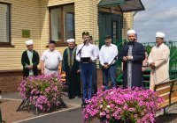 В селе Биляр при участии муфтия Татарстана открылась новая мечеть