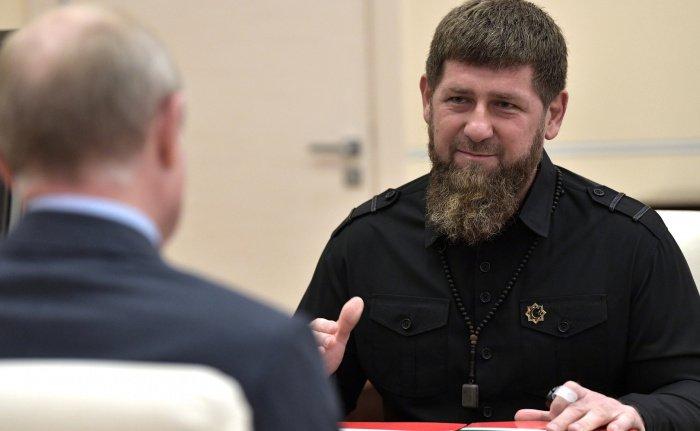 В Кремле также объяснили присвоение Кадырову звание генерал-майора национальной гвардии (Фото: официальный сайт президента России)